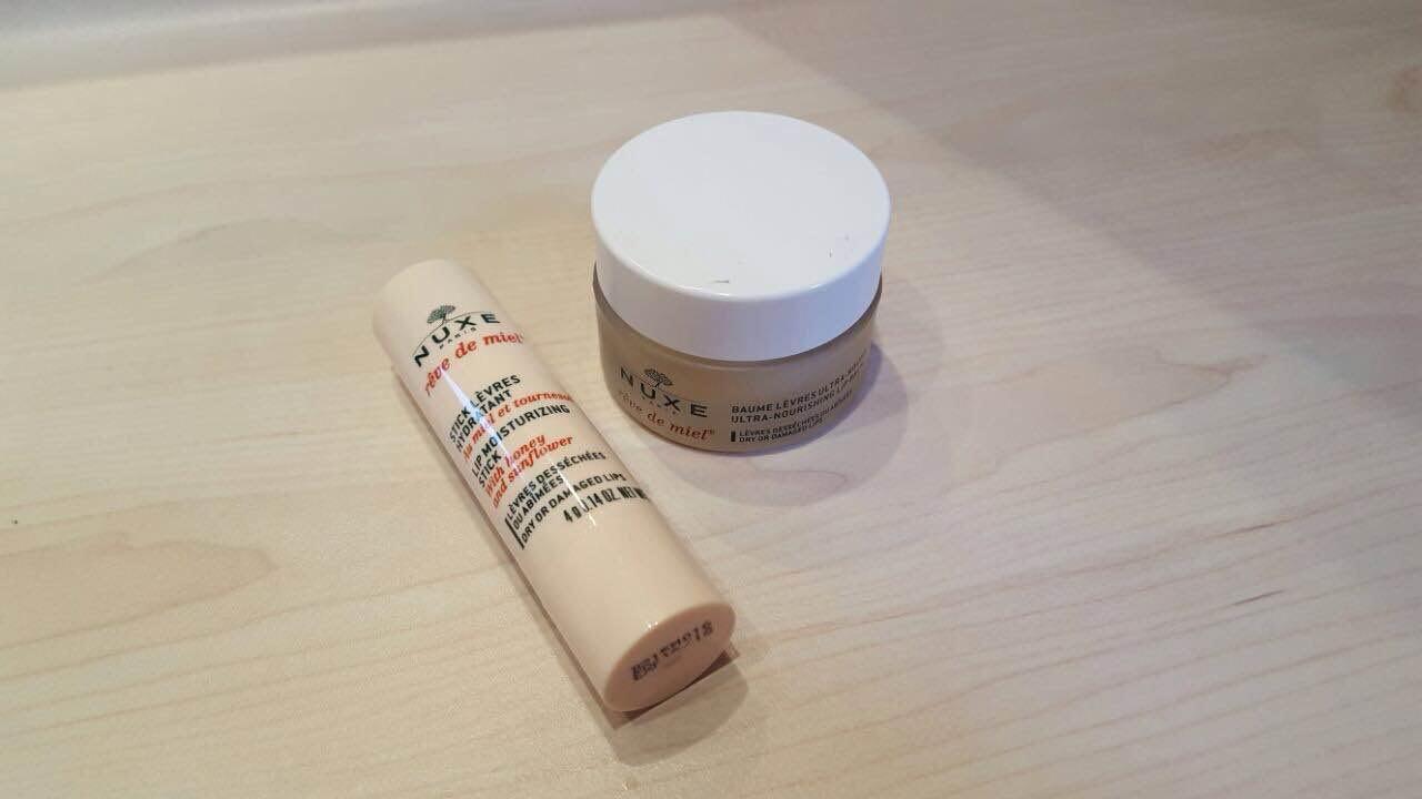 El secreto para mantener unos  labios hidratados este invierno:  Línea de labios Nuxe Reve de miel